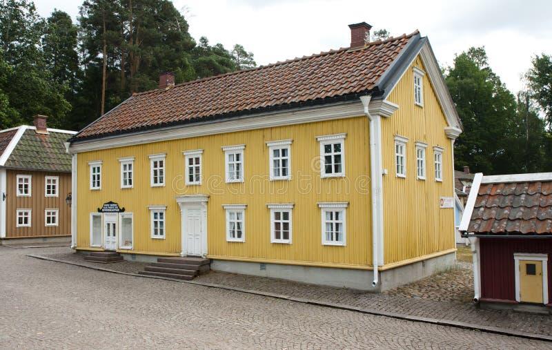 VIMMERBY SVERIGE - Juni 19, 2018 - världen för Astrid Lindgren ` s, Astrid Lindgrens Varld är ett nöjesfält royaltyfria foton