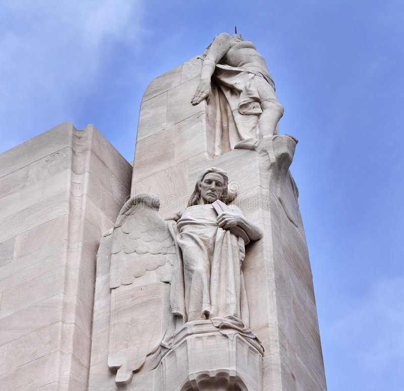 Download The Vimy Ridge Canadian War Memorial In France Stock Photo - Image: 8492892