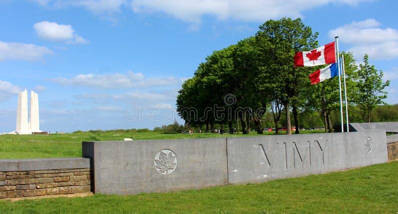 Vimy Ridge Memorial arkivbild