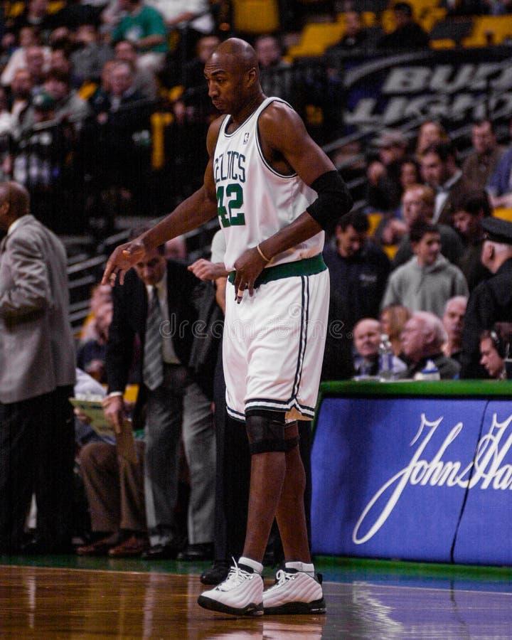 Vin Baker, Boston Celtics immagini stock libere da diritti