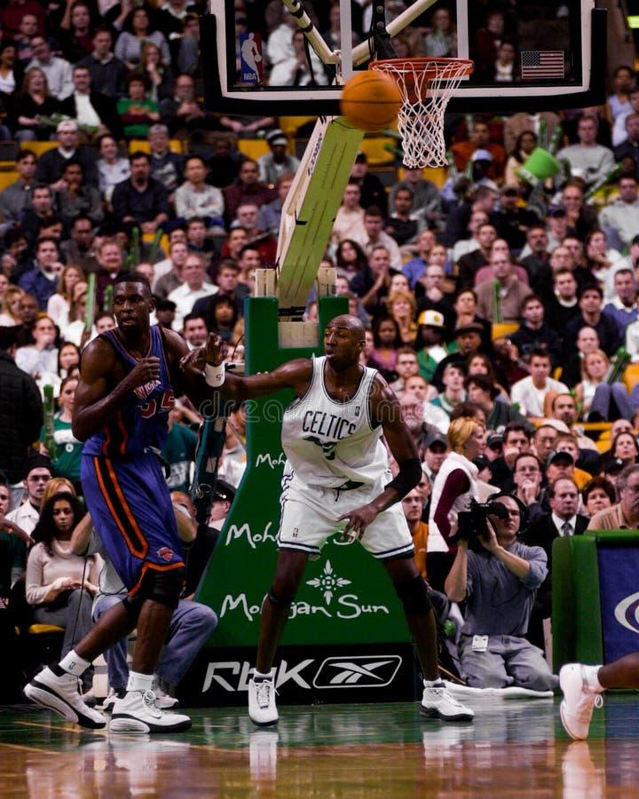 Vin Baker, Boston Celtics fotografia stock libera da diritti