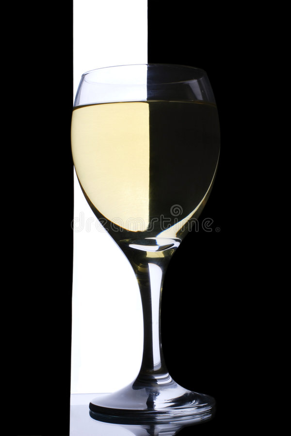 Vin blanc photo stock