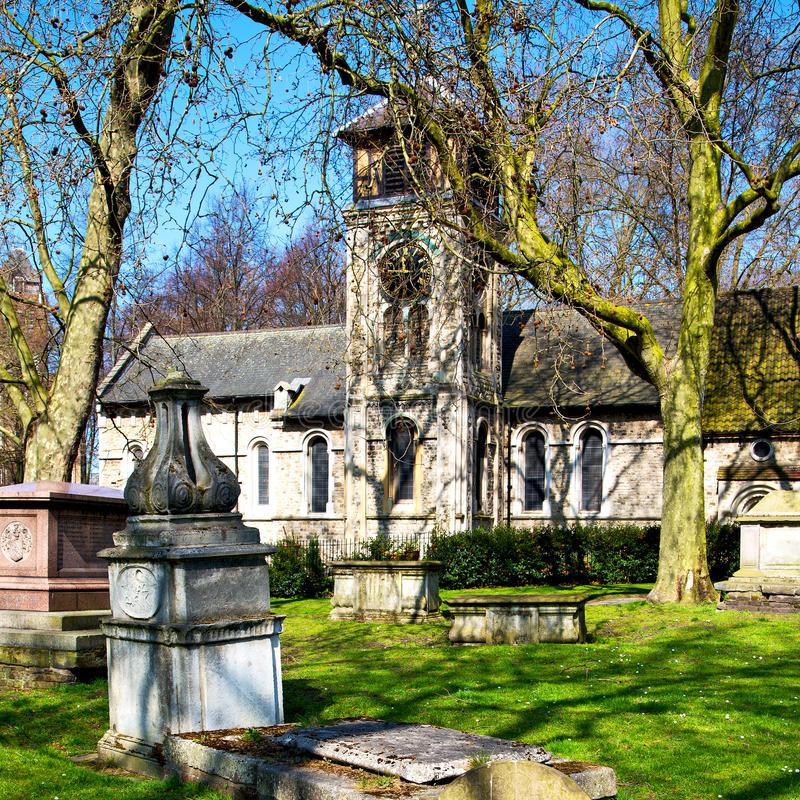 Vin Cemetery England Europe Old Construction And History Stock ...