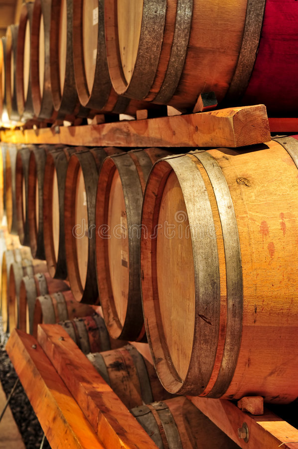 vin de barils photos libres de droits