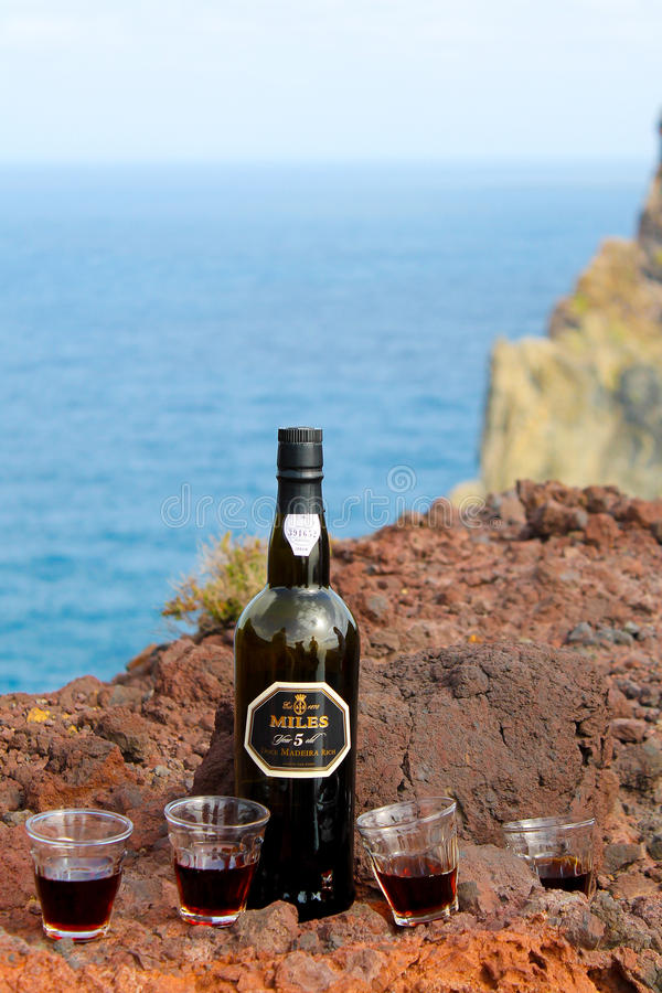 Vin de Miles Madeira photos stock