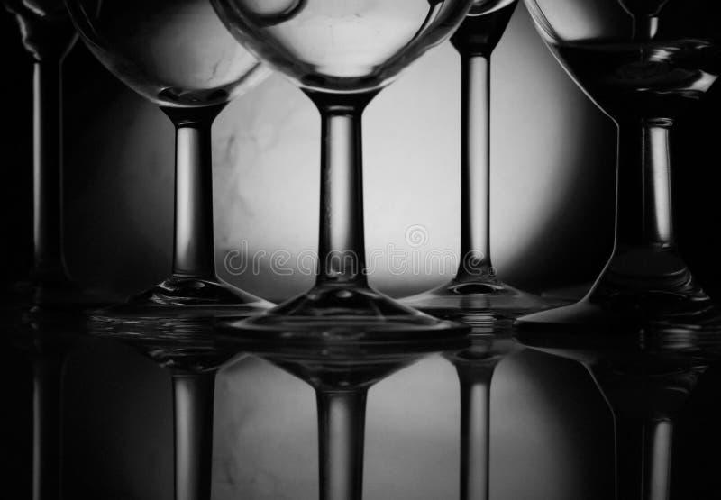 vin en verre photo stock