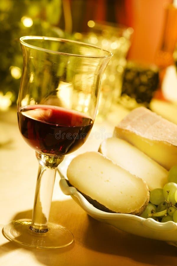 Vin et cheese0 photos stock