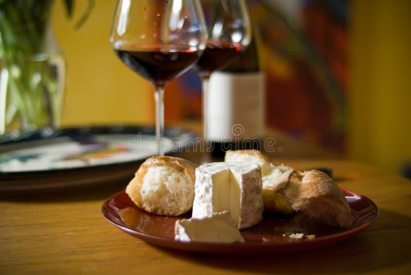 Download Vin et fromage photo stock. Image du platter, santé, curd - 8653144