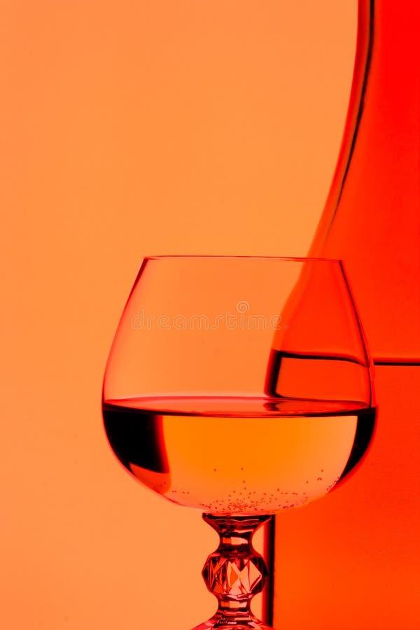 Vin et glace images stock