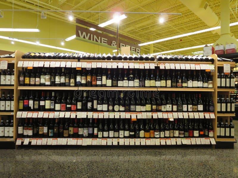 Vin och öl arkivbilder