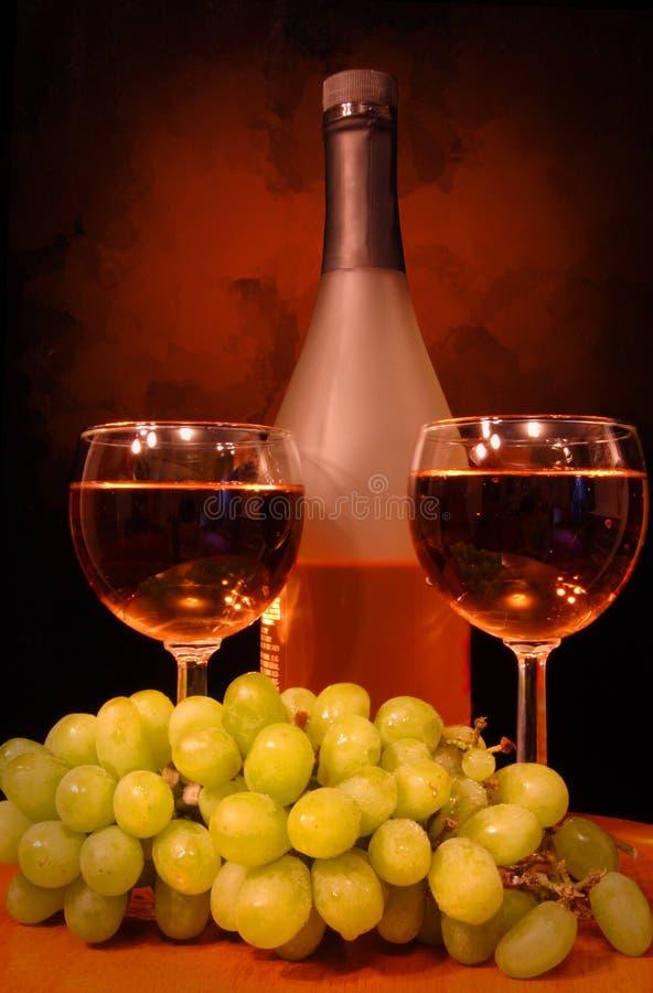 Vin pour deux images stock