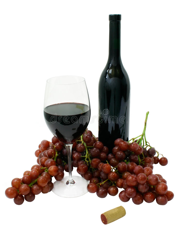 Vin rouge illustration de vecteur