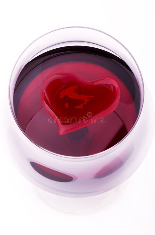 Vin rouge italien photographie stock libre de droits