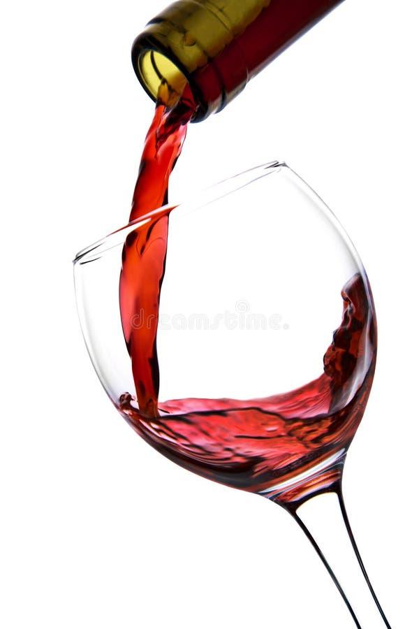 Download Vin Rouge Pleuvant à Torrents D'isolement Par Glace Photo stock - Image du luxe, célébration: 8659576