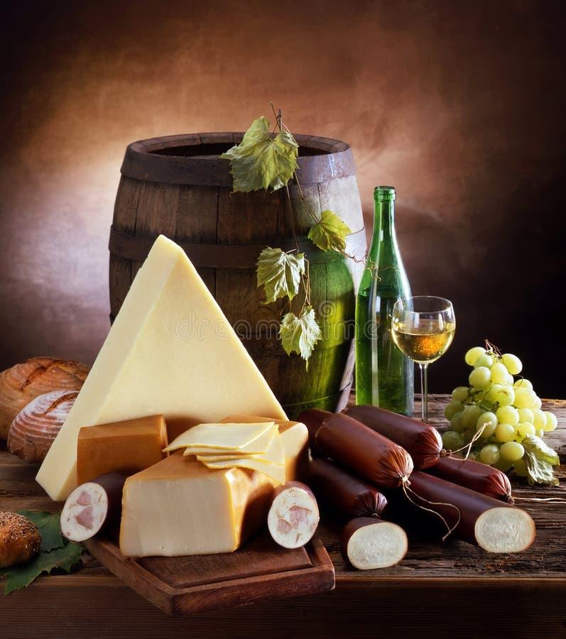 vin tranquille de durée de fromage photos stock