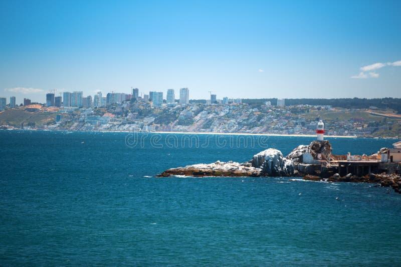 Vina del Mar, Chili royalty-vrije stock afbeelding