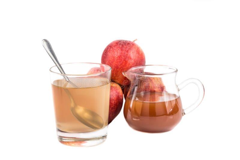 Vinagre de sidra de Apple, un remedio casero para la inflamación de la gota imagen de archivo