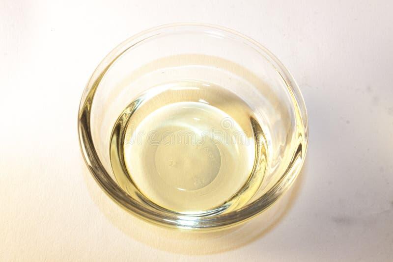 Vinagre del vino blanco imágenes de archivo libres de regalías