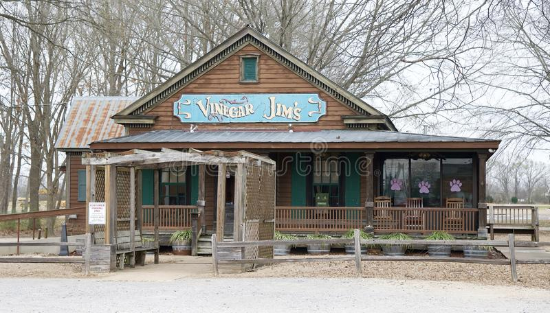 Vinagre Jims Bar & Resturant imagem de stock royalty free