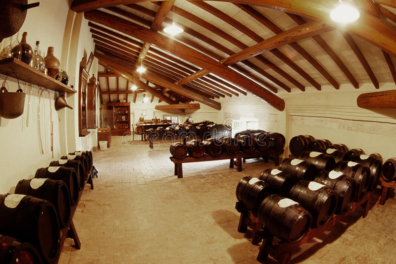 Vinaigre balsamique italien images stock