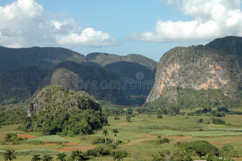 vinales Кубы de valle стоковые изображения