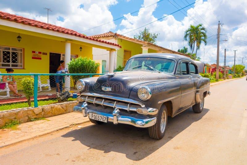 VINALES, CUBA - SEPTEMBER 13, 2015: Vinales is a royalty-vrije stock afbeeldingen