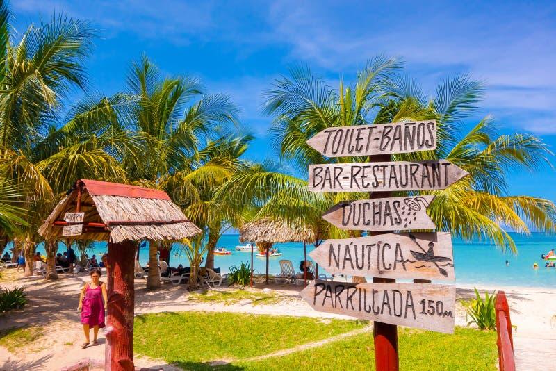VINALES, CUBA - 12 SEPTEMBRE 2015 : Cayo Jutias photos stock