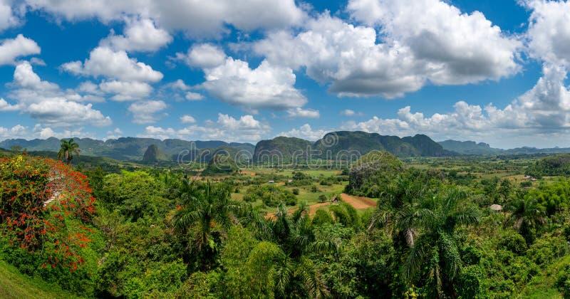 Vinales Dolinny miejsce w Pinar Del Río Kuba obrazy stock