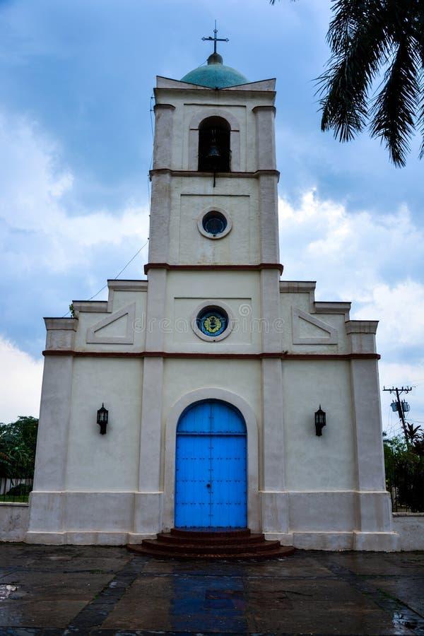 Vinales kościół zdjęcia stock