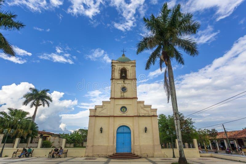 Vinales kościół, UNESCO, Vinales, pinar del rio prowincja, Kuba, Zachodni Indies, Karaiby, Ameryka Środkowa fotografia royalty free