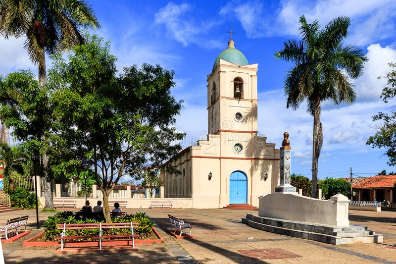 Vinales kościół w Vinales obraz royalty free