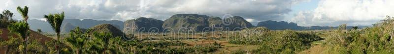 Vinales Panorama stockfotografie