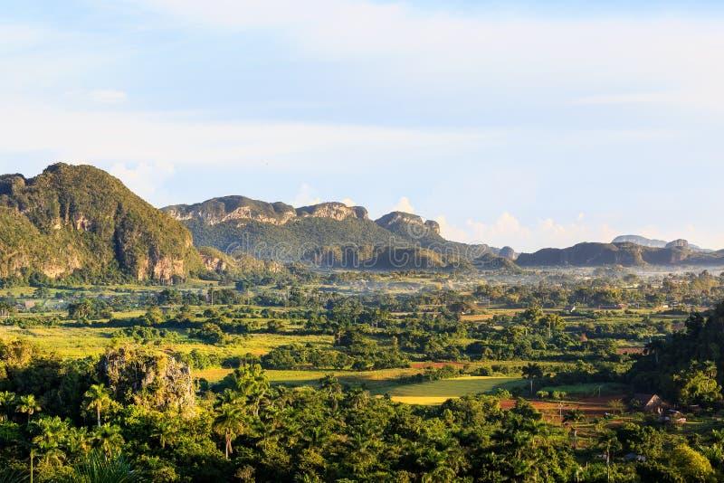 Vinales Valles in Cuba royalty-vrije stock foto's