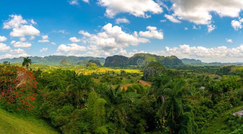 Vinales Valley site in  Pinar del Rio of Cuba royalty free stock images
