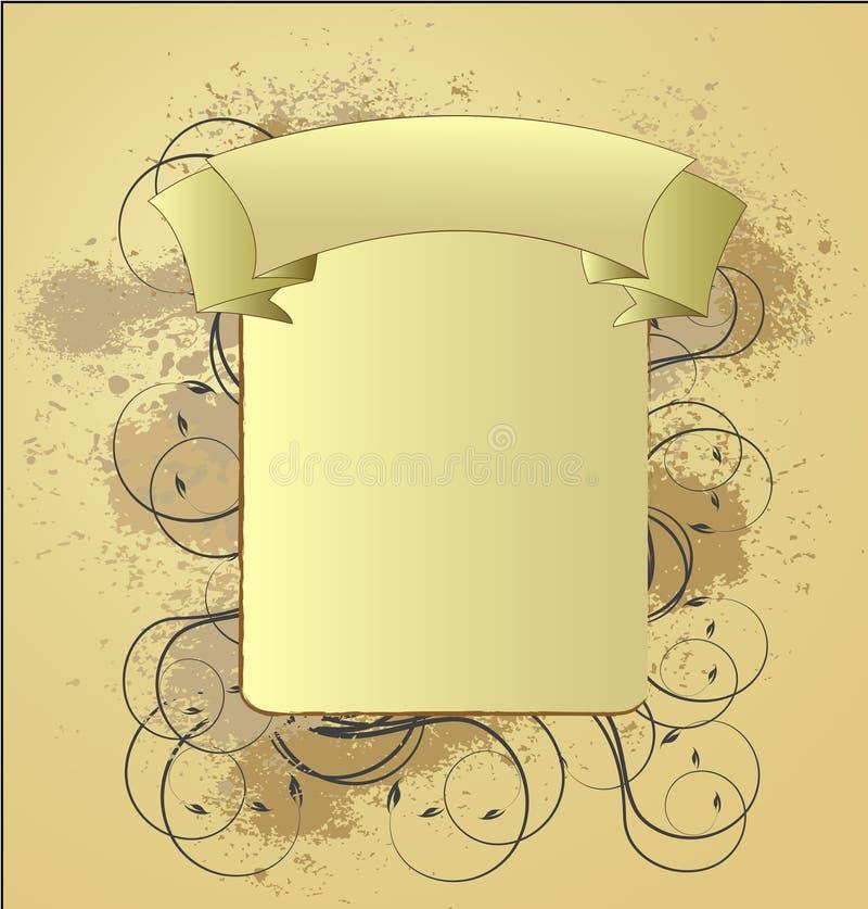 vinatge abstrakcyjne projektu ilustracja wektor