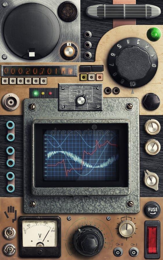 Vinatge Control Panel Royalty Free Stock Images