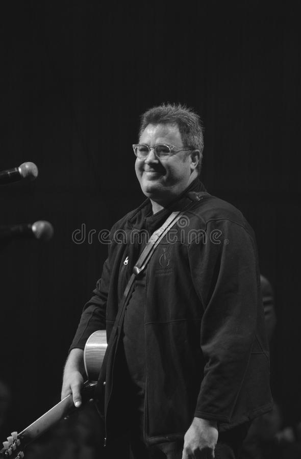 Vince Gill at the Country Music Hall of Fame Grand Opening. Vince Gill performing at the grand opening of the expansion of the Country Music Hall of Fame royalty free stock photography