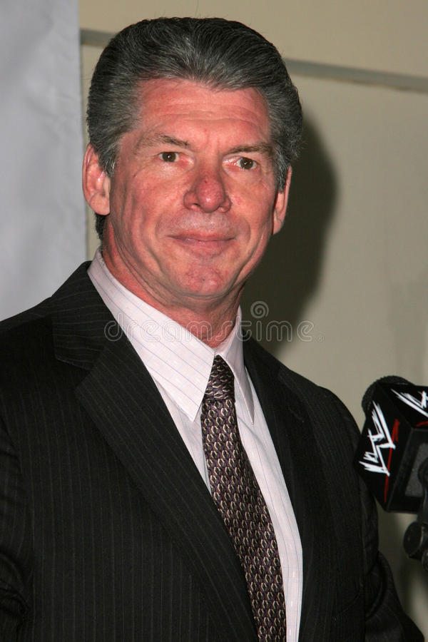 Vince McMahon royalty free stock images
