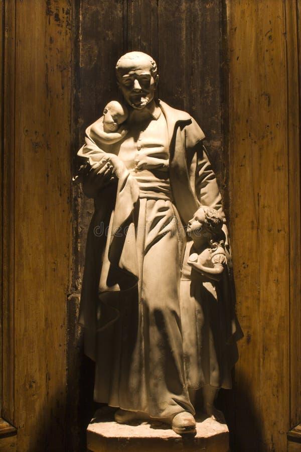 vincent教会de巴黎保罗的st 免版税图库摄影