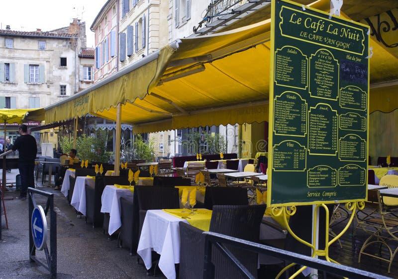 Vincent Van Gogh Cafe, Arles, France royalty free stock images