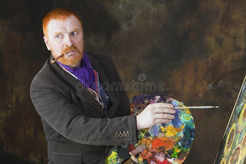 Vincent van Gogh-portret van toewijding royalty-vrije stock afbeelding