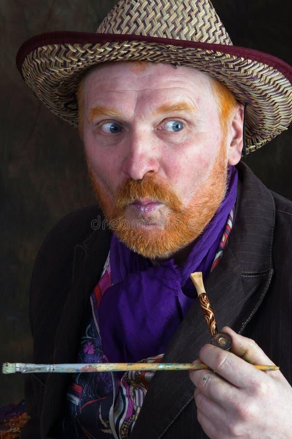 Vincent van Gogh-portret van toewijding stock fotografie
