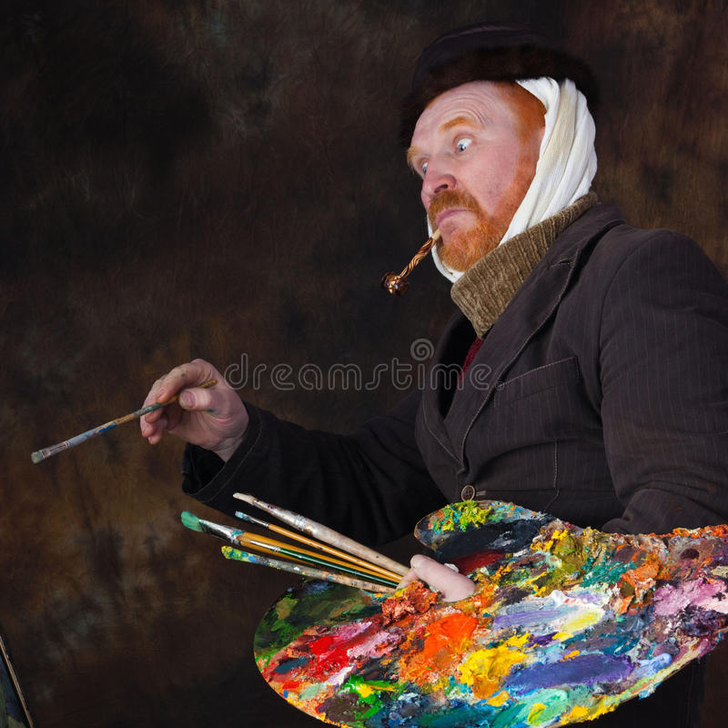 Vincent van Gogh-portret van toewijding royalty-vrije stock foto