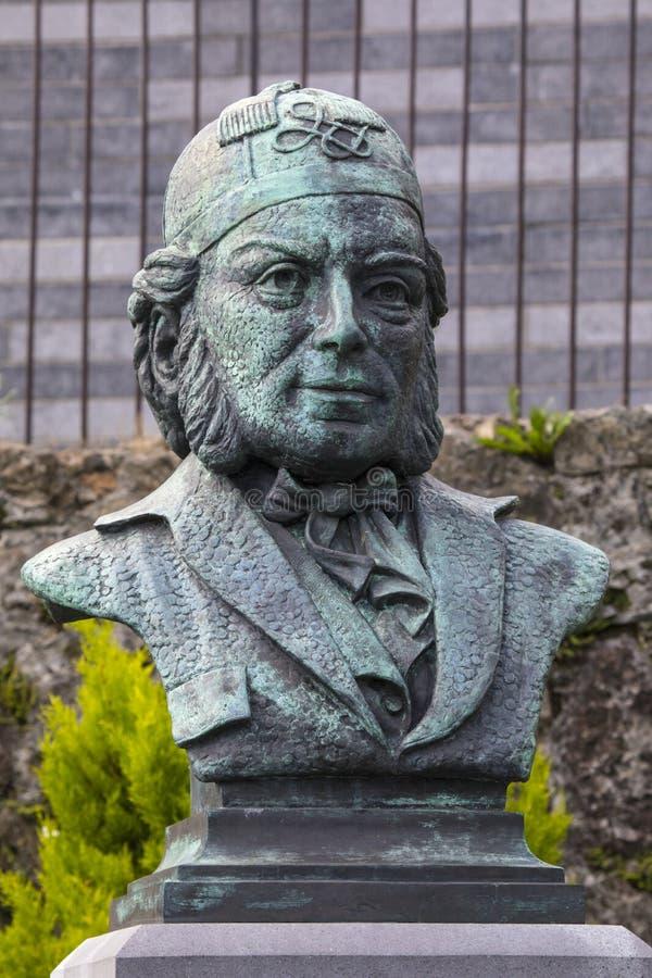 Vincent Wallace Monument i Waterford fotografering för bildbyråer