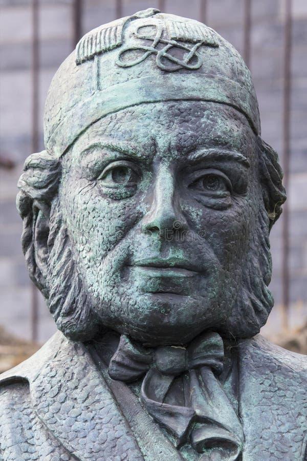 Vincent Wallace Monument i Waterford arkivbilder