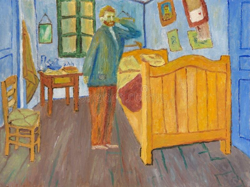 Vincents sypialnia w Arles fotografia stock