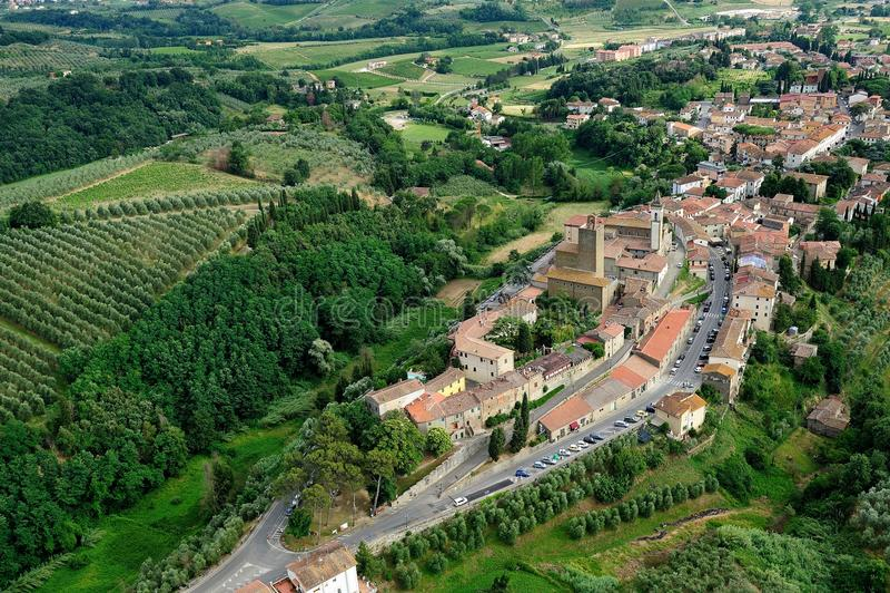 Vinci-Itália fotografia de stock royalty free