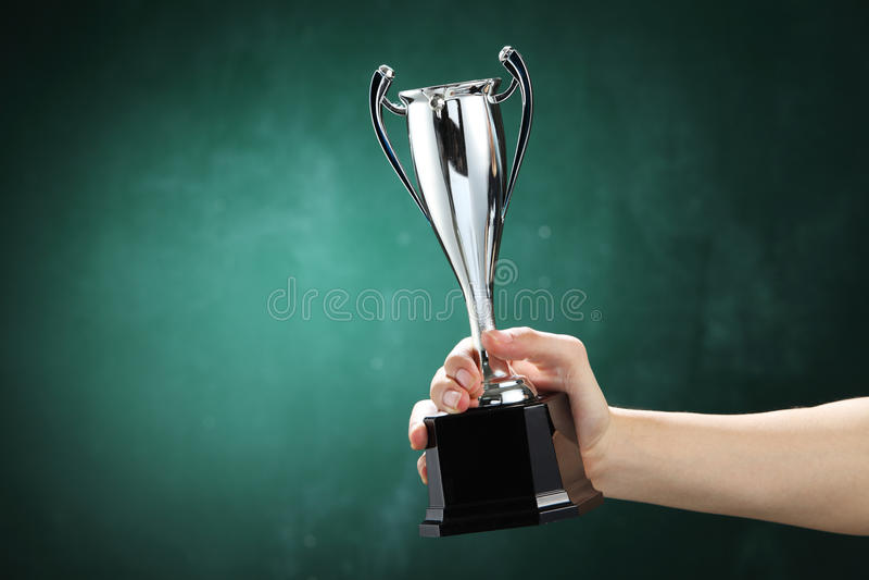 vincitore fotografia stock