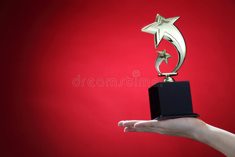 vincitore immagini stock
