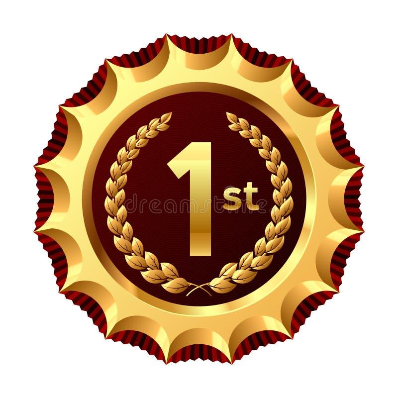 Vincitore del premio. Vettore. royalty illustrazione gratis